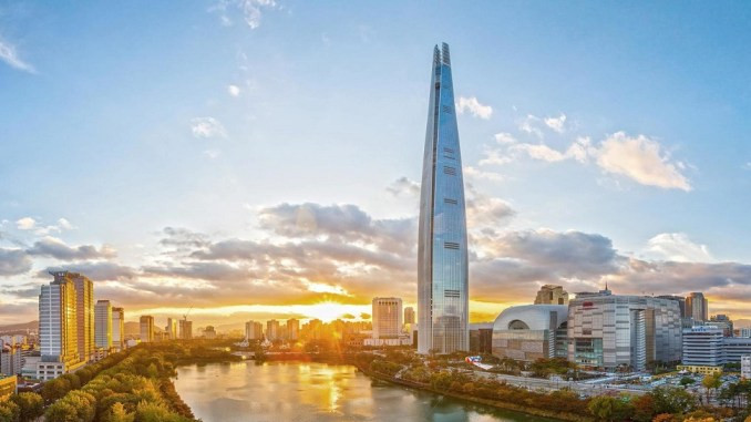 5. Lotte World Tower
