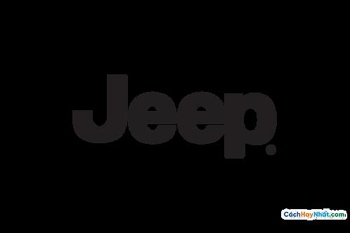 Logo Jeep 3D Vector PDF PNG