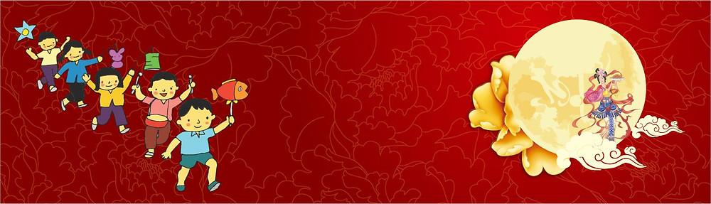 Phông Nền Băng Rôn Trung Thu Vector Corel CDR Part24