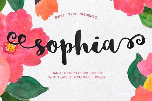 Download Phông Chữ Calligraphy - Sophia Font