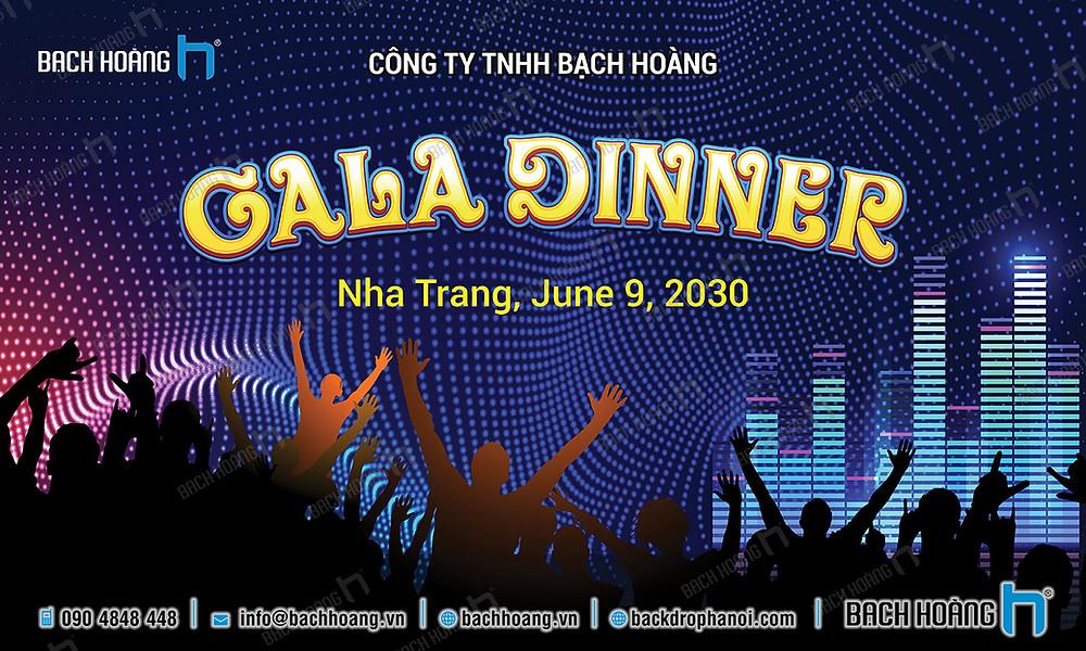Mẫu backdrop phông Gala Dinner, Team Building đẹp nhất 68