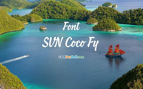 Download Font SVN Coco FY Việt Hóa - Tải Miễn Phí