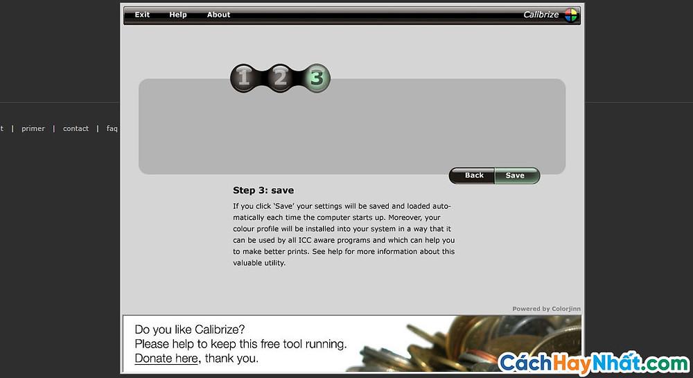 Bước 4:  Nhấn Save để lưu lại.
