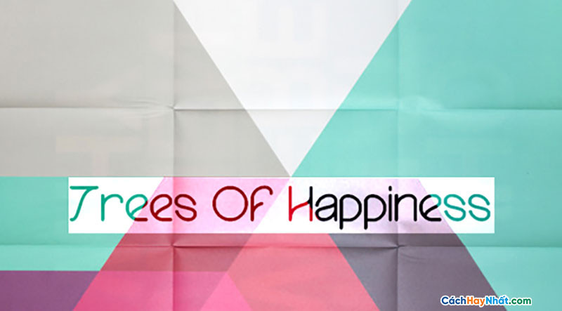 Download Free Font Trees Of Happiness