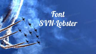 Download Font SVN-Lobster Việt Hóa
