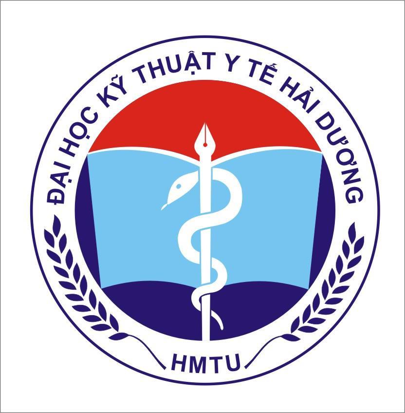 Logo Trường Đại học Kỹ thuật Y tế Hải Dương