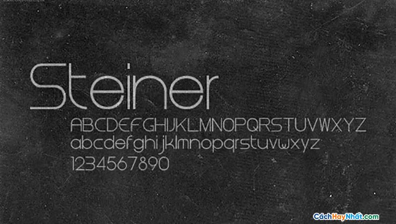 Download Free Font Steiner