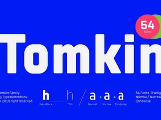 Download Free Tomkin Font Family