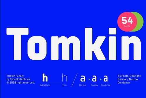 Tomkin Font Family
