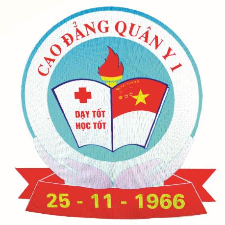 Logo Trường Cao đẳng Quân y 1
