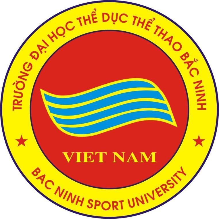 Logo Trường Đại học Thể dục Thể thao Bắc Ninh