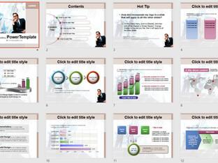 Download Mẫu Powerpoint Template Free Đẹp - 583TGp_Business_Light 11