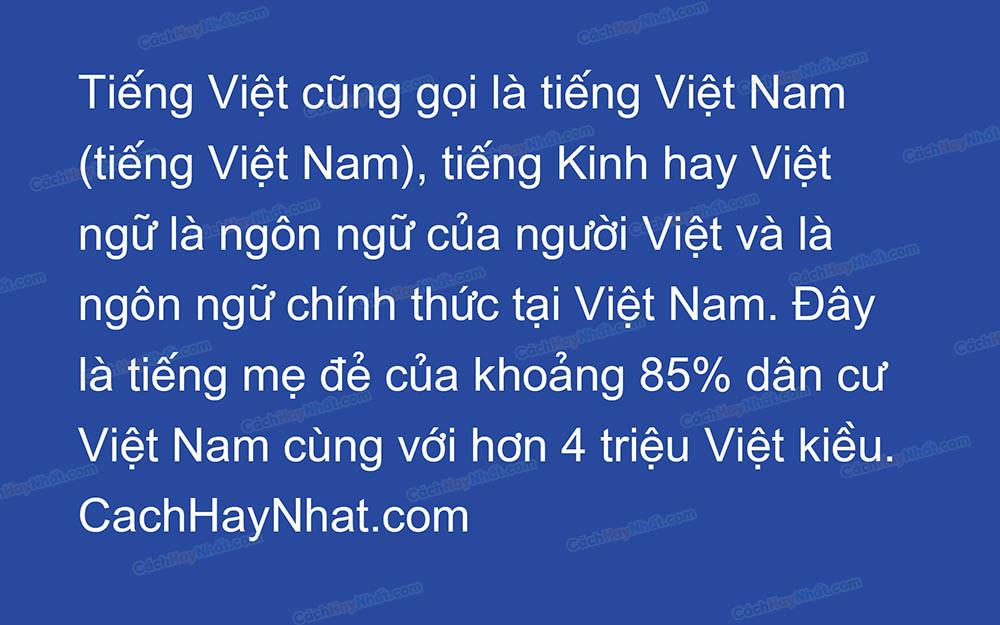 Font SVN-Arial Việt Hóa