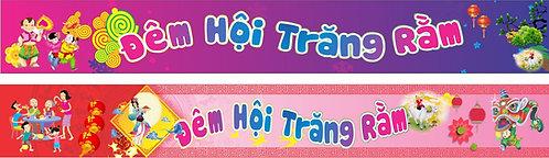 Banner Băng Rôn Trung Thu Vector Corel CDR 175