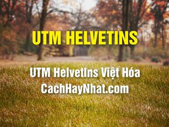 Tải Font UTM Helvetins Việt Hóa Free