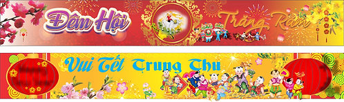 Banner Băng Rôn Trung Thu Vector Corel CDR 174