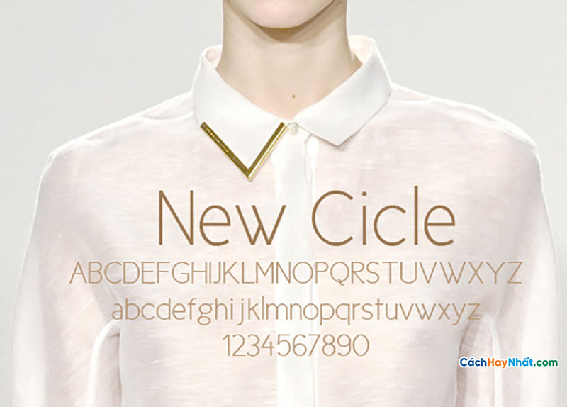 Download Free Font New Cicle