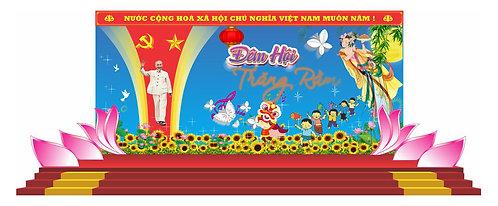 Tải file Background Sân Khấu Trung Thu Vector Corel CDR 96