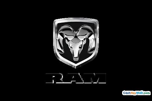 Logo Ram 3D Vector PDF PNG
