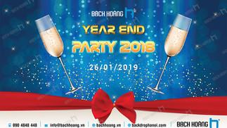 Mẫu Backdrop Phông Year End Party Đẹp Nhất Phần 01