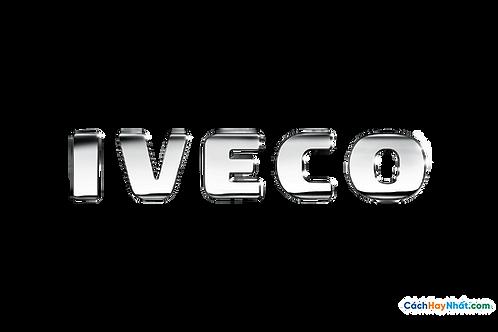 Logo Iveco 3D Vector PDF PNG
