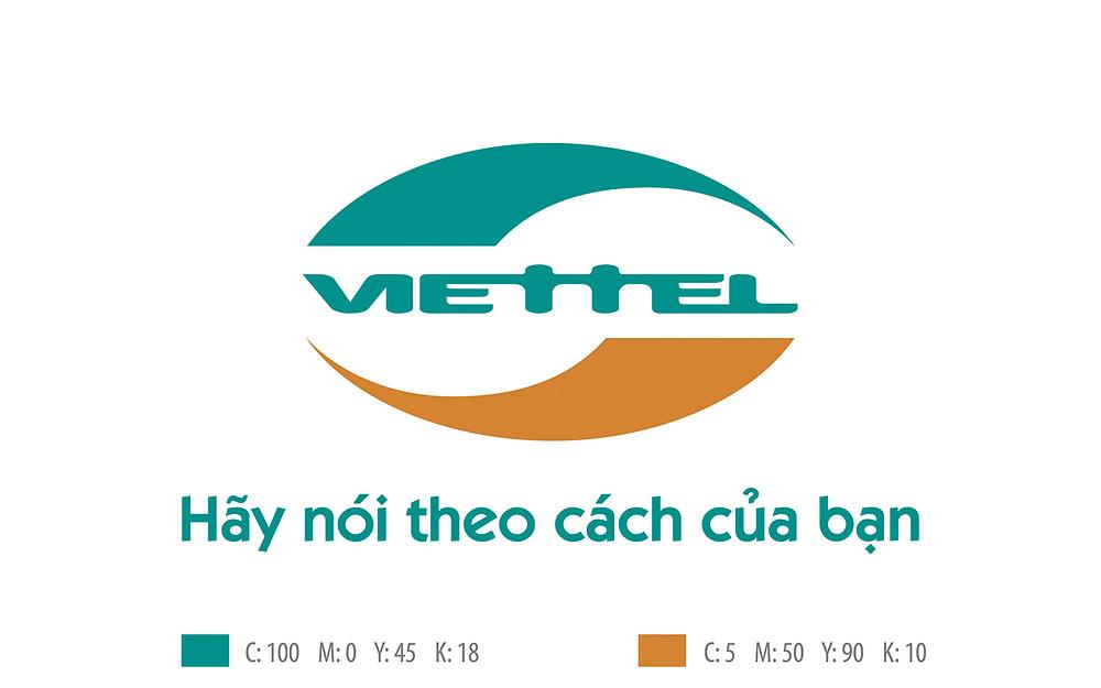 Logo Viettel chuẩn vector