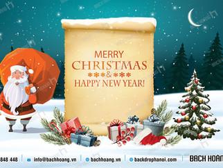Tổng Hợp Mẫu Backdrop Phông Noel Giáng Sinh Merry Christmas Đẹp Nhất Phần 02