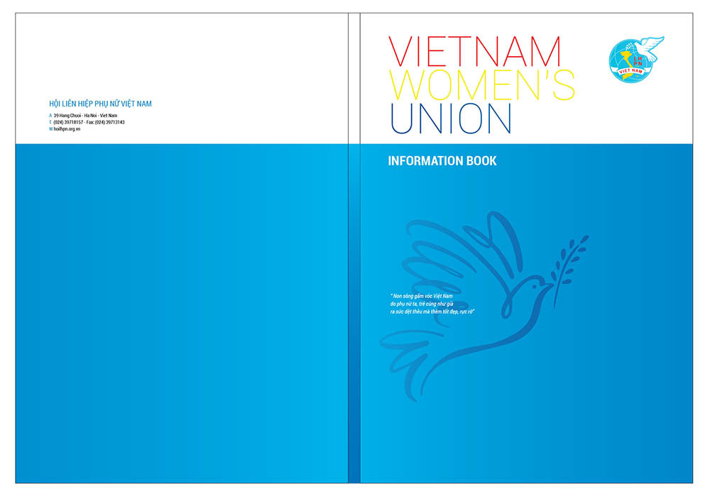 Bìa Sổ Sách, Folder Hội LHPN Việt Nam