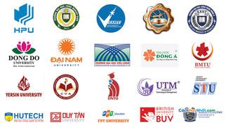 Tổng Hợp Logo Trường Đại Tư Thục Vector CDR AI PDF PNG JPG Part08