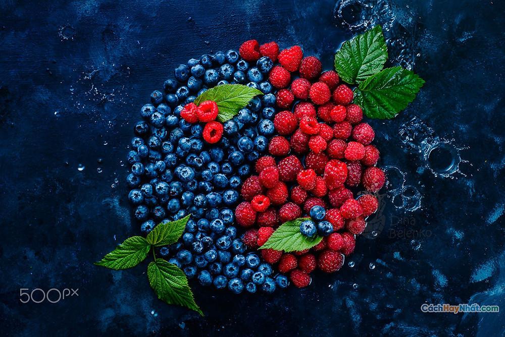 Thực phẩm nghệ thuật quảng cáo ý tưởng chế tác ảnh cân bằng mùa hè bởi dina