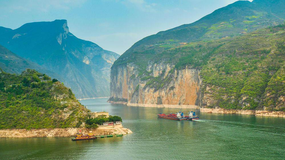 Sông Dương Tử - 6.300 km