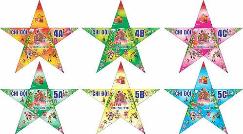 Đèn Ông Sao Trung Thu Vector Corel CDR 67