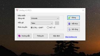 Tải UniKey 4.3 RC5 Mới Nhất Bộ Gõ Tiếng Việt Miễn Phí Tốt Nhất