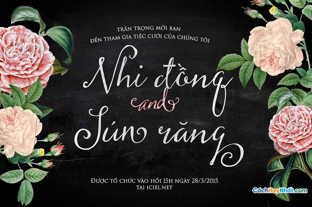Font Chữ iCiel Butterscotch 2015 Việt hóa