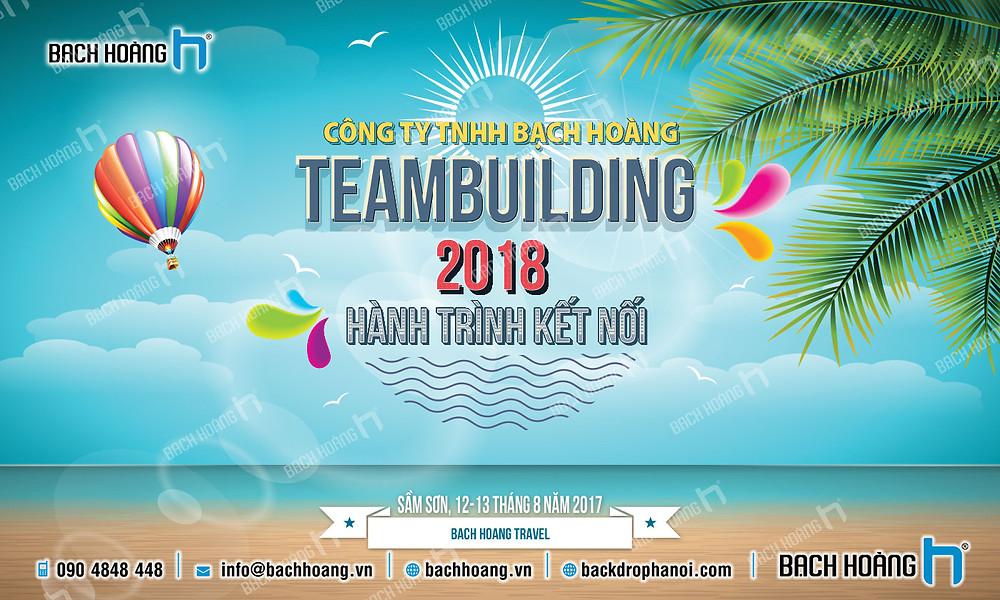 Mẫu backdrop phông Gala Dinner, Team Building đẹp nhất 19