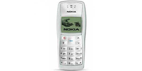 1. Nokia 1100