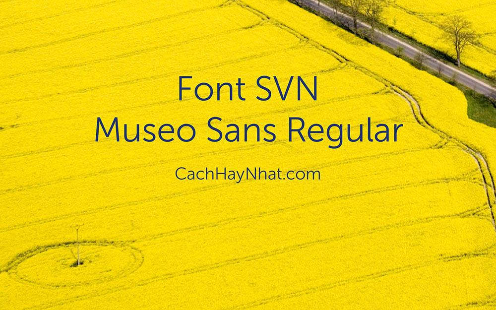 Font SVN-Museo Sans
