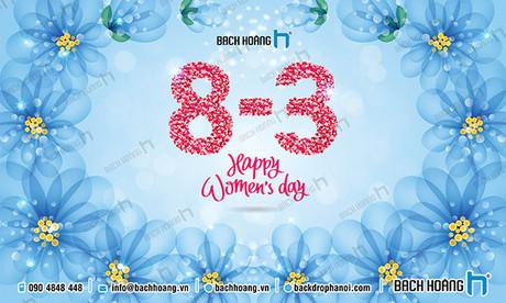 Backdrop Phông Quốc tế Phụ Nữ 8-3