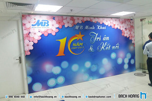 Kỷ niệm 10 năm MB Minh Khai