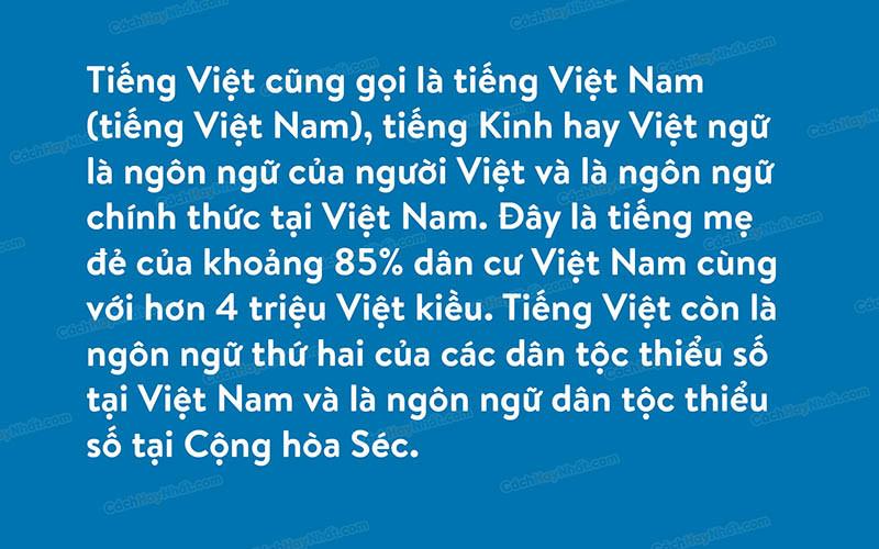 Font iCiel Brandon text Việt Hóa