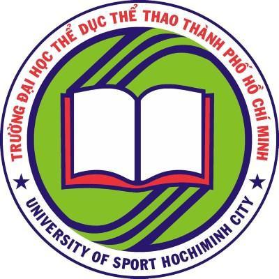 Logo Trường Đại học Thể dục Thể thao Thành phố Hồ Chí Minh