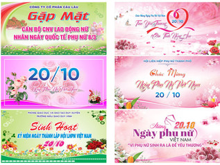 Download Background Phông Nền Ngày Phụ Nữ Việt Nam 20/10 Vector Corel CDR Part03