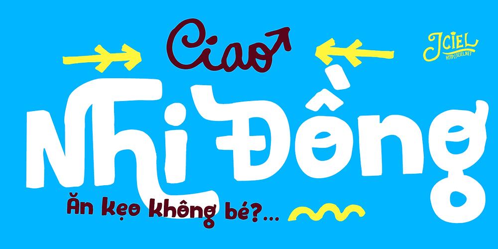Font Iciel Pequena Pro 2014 Việt Hóa
