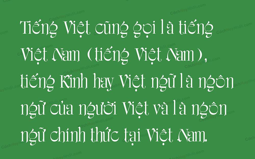 Font iciel Amerigraf Việt Hóa