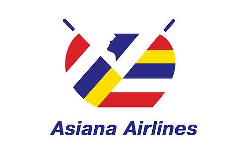 Logo Asiana Airlines Vector Full Định Dạng CDR AI PDF EPS PNG