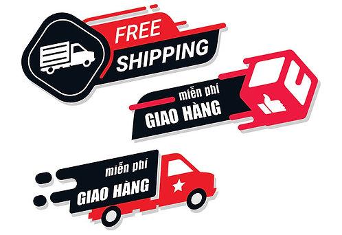 Download Vector Icon Shipper Freeship Giao Hàng Miễn Phí File CDR Corel