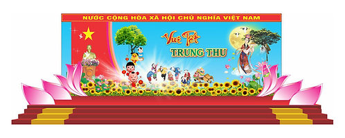 Tải file Background Sân Khấu Trung Thu Vector Corel CDR 93