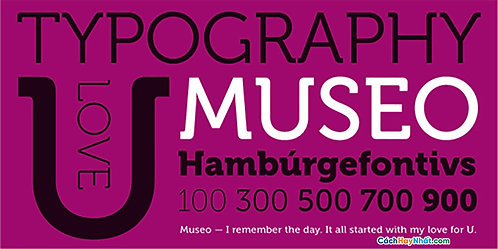 Font Museo download