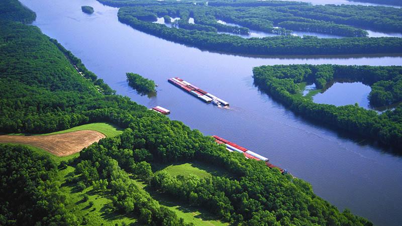 Sông Mississippi - 5,970 km