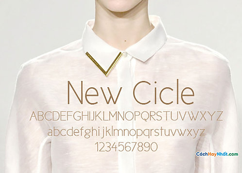 Font NewCicle Download Free